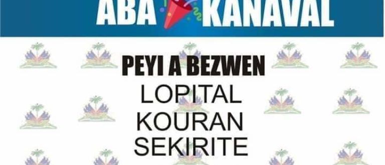 Article : Haïti : faut-il ne pas organiser le carnaval?